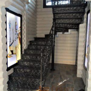 Лестницы кованые
