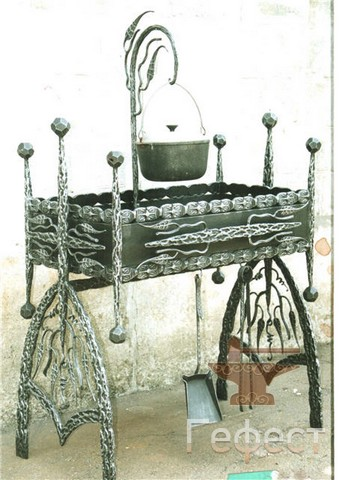 мангал кованый