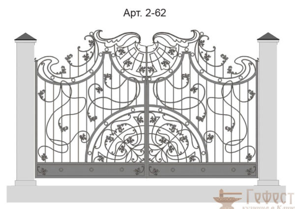 Эскиз ворот