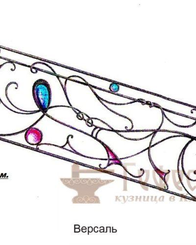 Эскизы, кованые перила