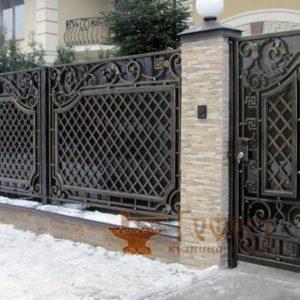 Ворота и калитки кованые