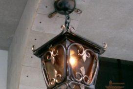 Уличные фонари кованые