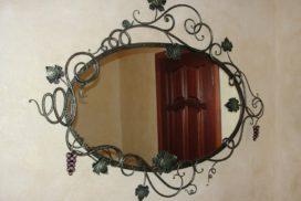 Зеркала. Рамы кованые