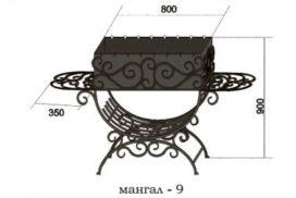 Эскизы. Мангалы кованые, садовый инвентарь
